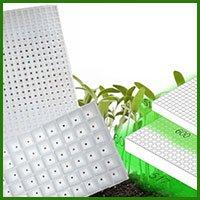 Стиропорни табли и форми за разсад