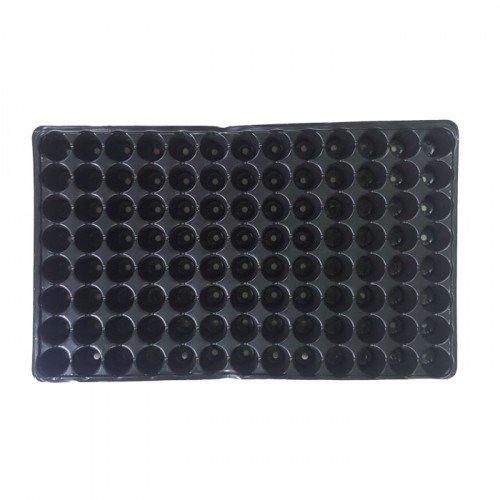 Пластмасова табла за разсад 104 гнезда кръгли плитки