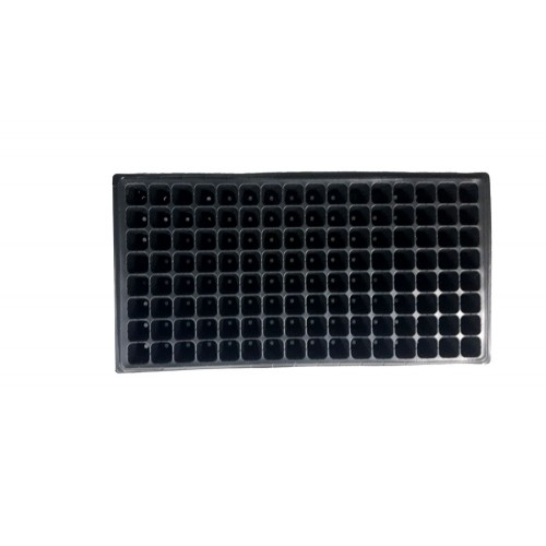 Пластмасова табла за разсад 128 гнезда квадратни - 100 бр.