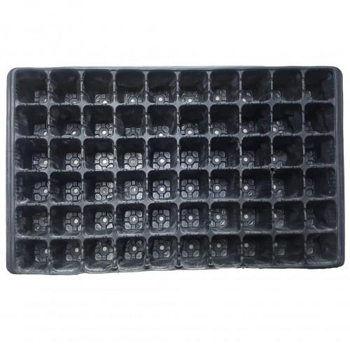 Пластмасова табла за разсад 60 гнезда квадратни