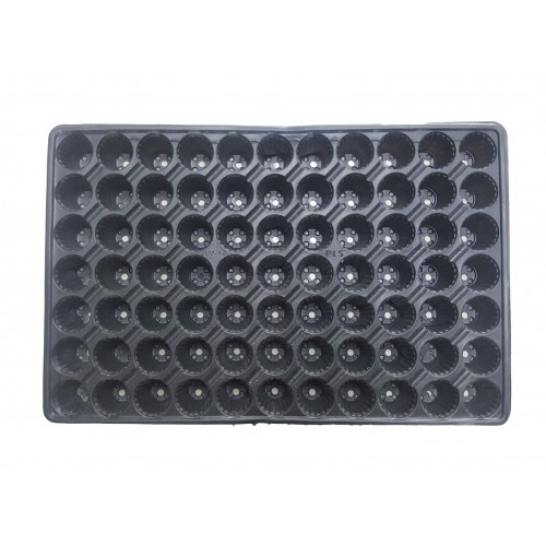 Пластмасова табла за разсад 77 гнезда кръгли