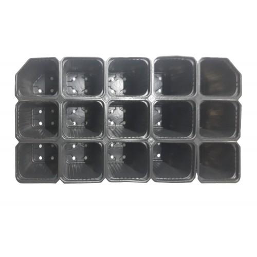 Пластмасова табла за разсад 15 гнезда - отделящи се